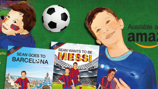 Sean Wants To Be Messi- soccer book