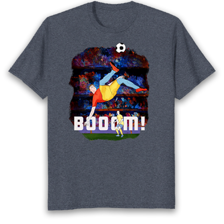 Booom! Soccer dad\coach T shirt