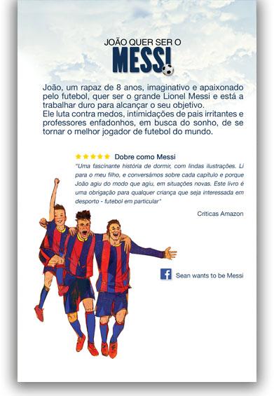 João quer ser o Messi