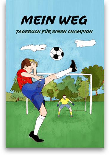 Fußball-Journal für Jungen