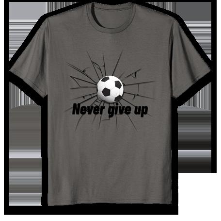 gift for soccer fans- t shirt