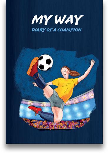 Soccer journal for girls
