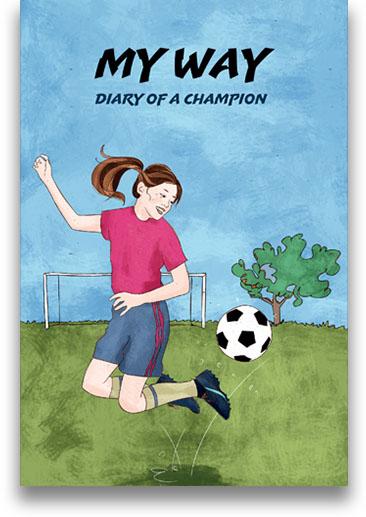 Soccer journal for girls -  great gift