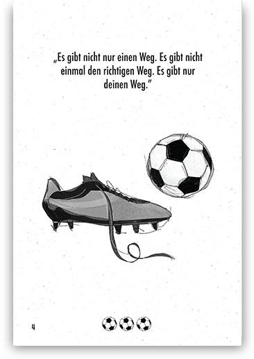 Tagebuch für Fußballspieler