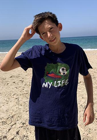 Soccer fan gift - t shirt