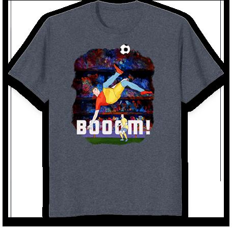 Soccer shirt for kids-book