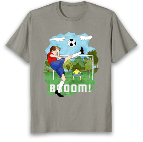 gift for footy fans tshirt