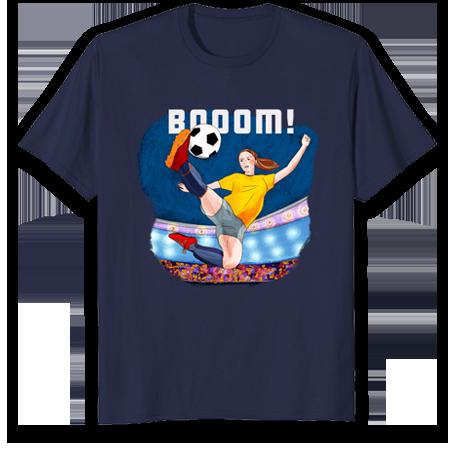 Tshirt for soccer moms